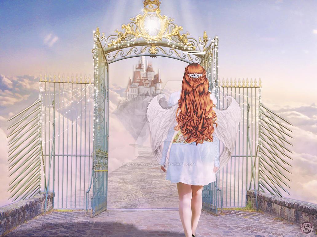 At Heavens's Gate by Renata-s-art