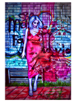 Splash Wall by Renata-s-art