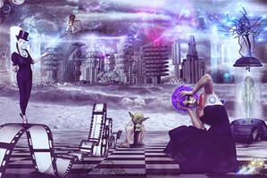 Pantomime Cyborgs by Renata-s-art