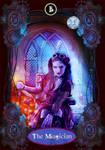 Steampunk Tarot Card