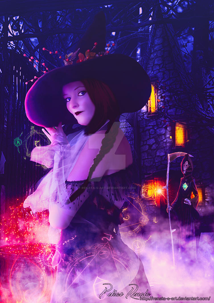 The hour of the witch by Renata-s-art