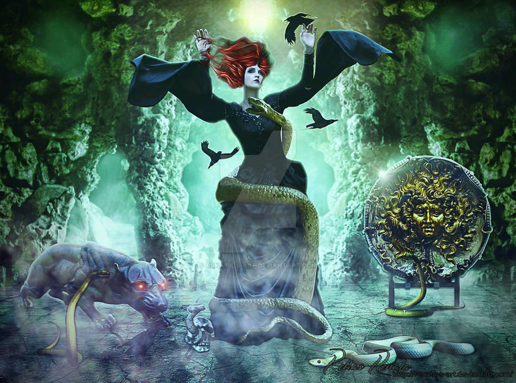 Mystic Cave by Renata-s-art
