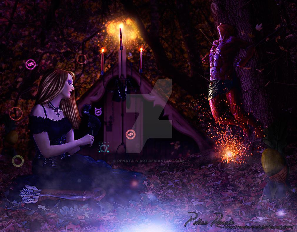 Black Widow by Renata-s-art