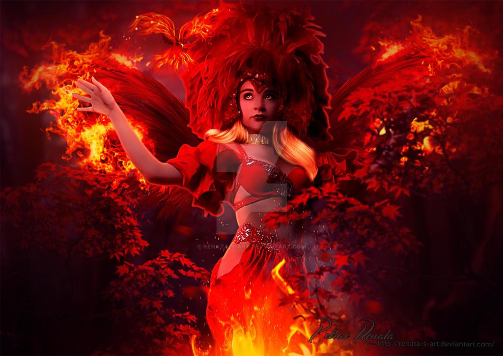Rise like a Phoenix by Renata-s-art