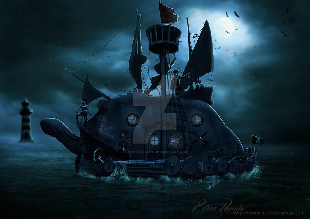 Jackline Sparrow by Renata-s-art