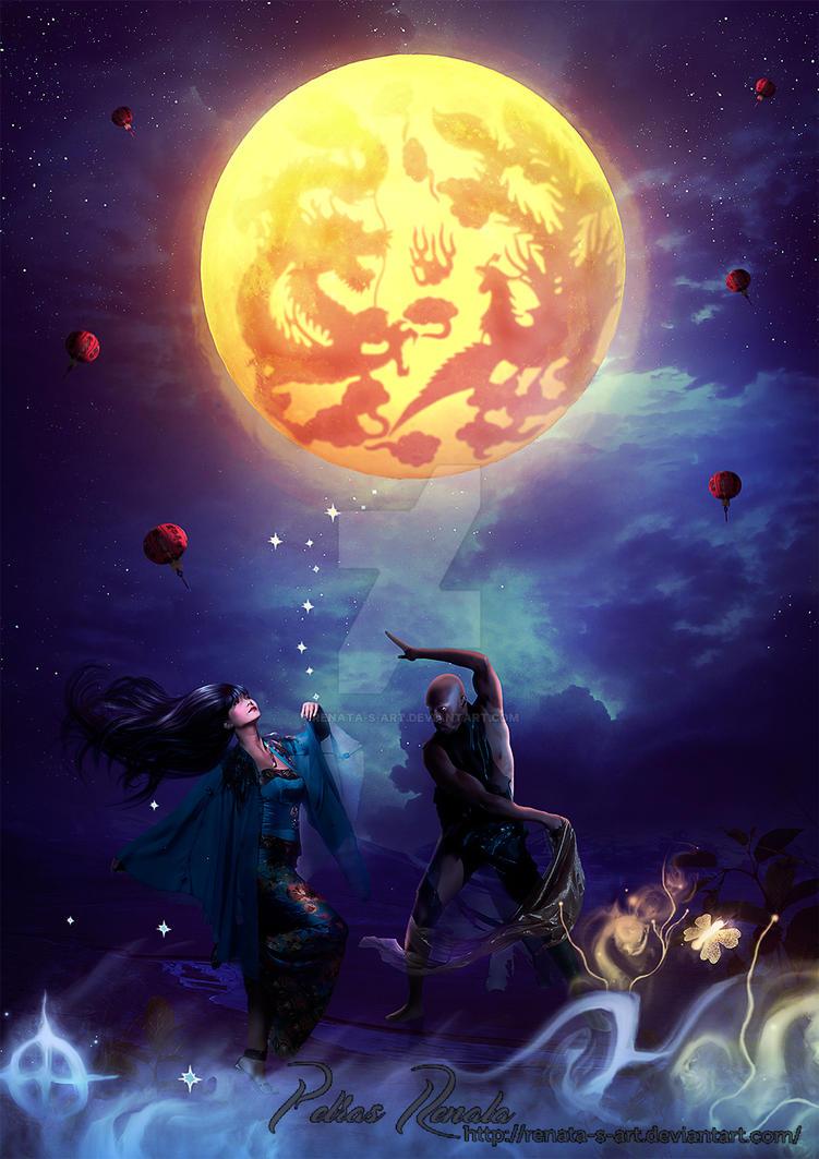 Dancing in the Moonlight by Renata-s-art