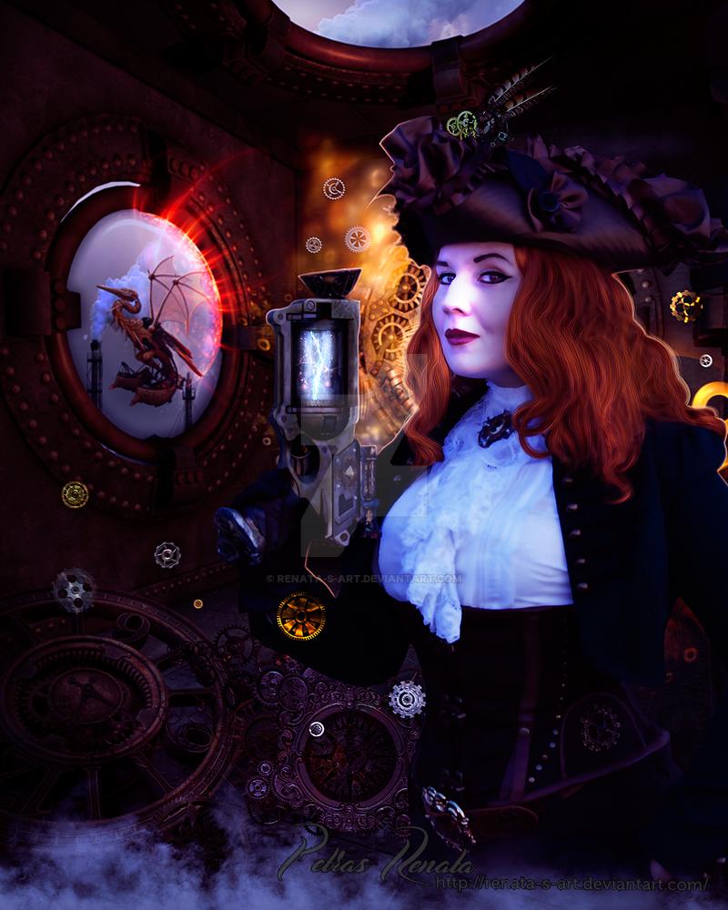 Our Steampunk Future by Renata-s-art