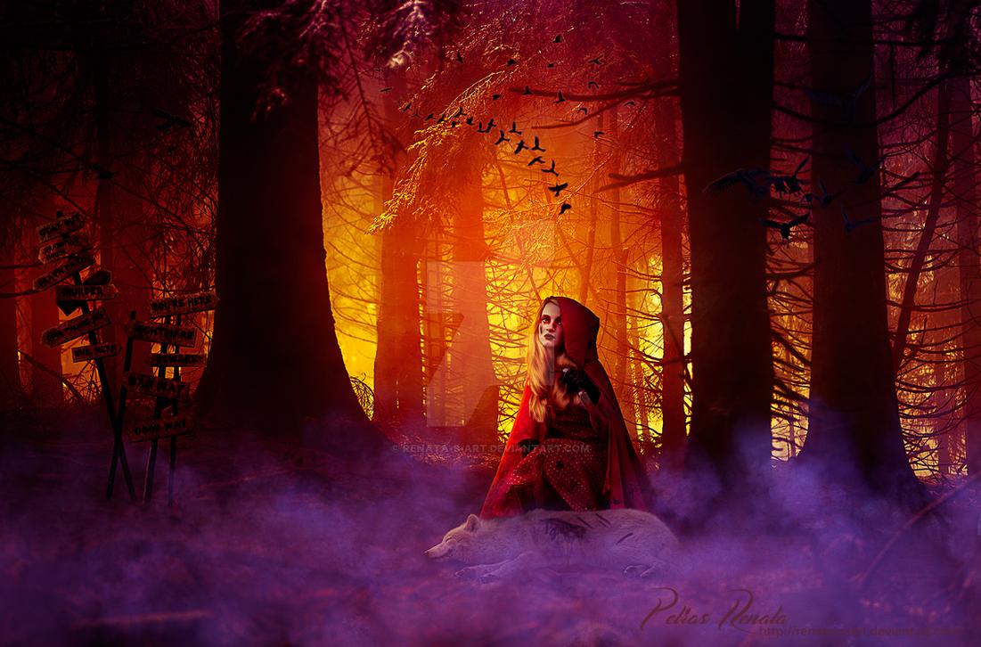 Evil Red by Renata-s-art