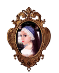 Girl with a pearl earring by Renata-s-art