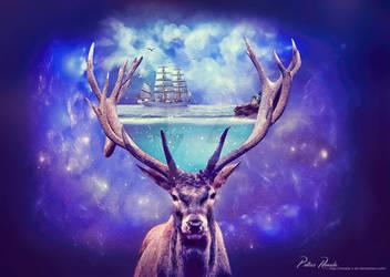 Let the sea set you free by Renata-s-art