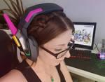 New D.va headset