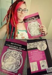 My Fetish Colouring Book- Fantasy Edition!