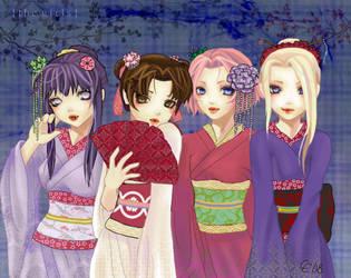 The Konoha Girls by CrimsonCobwebs