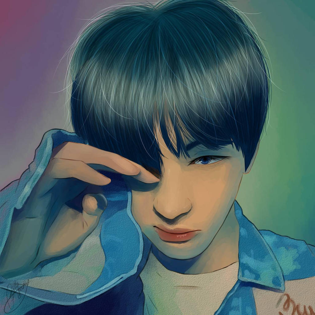 Blood Sweat And Tears Japanese Vers Taehyung By Illustbella On