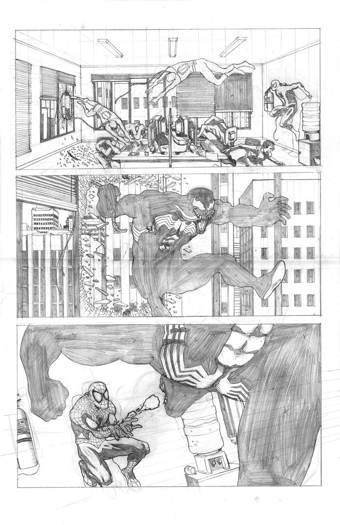 Spider-Man pencils - page 3 by fabiocralves