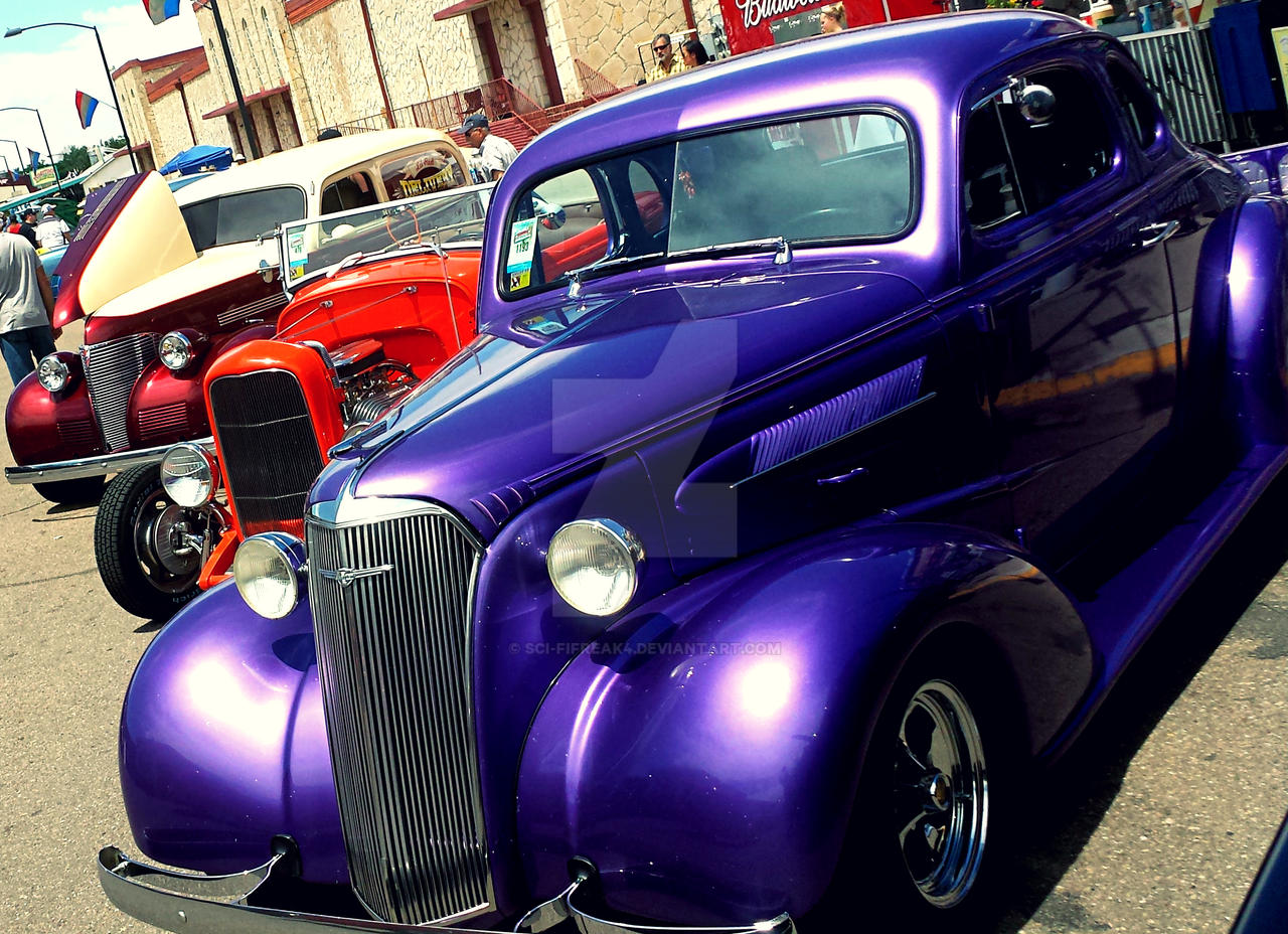 Purple Coupe by sci-fifreak4