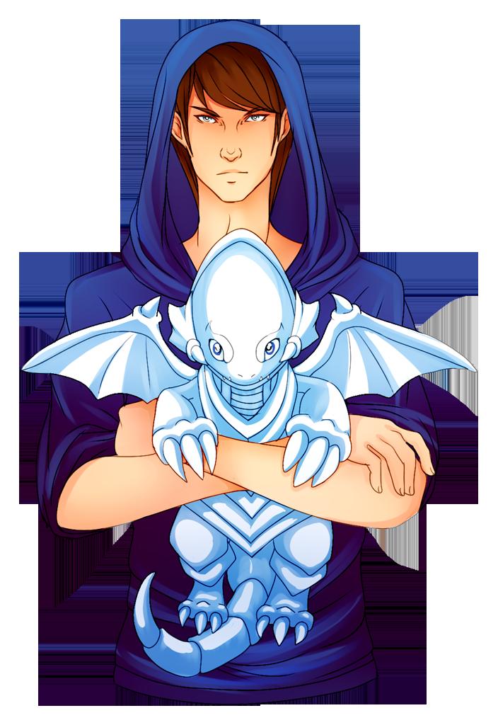 Blue Eyes Cuddle Dragon by Vaenarys