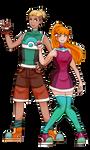 Pokemon Villa - Mascots by ChirpyCharlotte