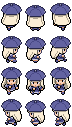 Minna - Overworld Sprites by Vaenarys