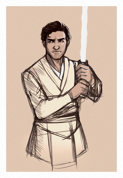 Jedi!Poe - because why the Force not? by ChirpyCharlotte