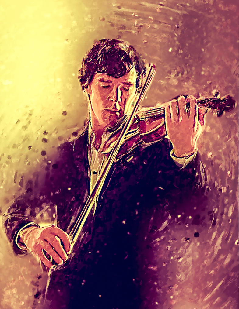 Sherlock Holmes: The Violin by EcaJT