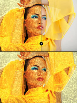 Impressionist Paint Effect Actions | Preview 23