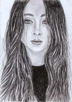 Jasmine Thompson | Pencil Drawing (Scanned)