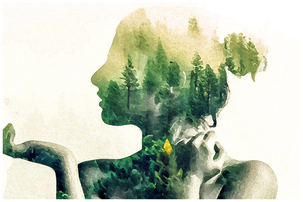 Lovely Watercolor Effect | Photoshop Actions by EcaJT on DeviantArt