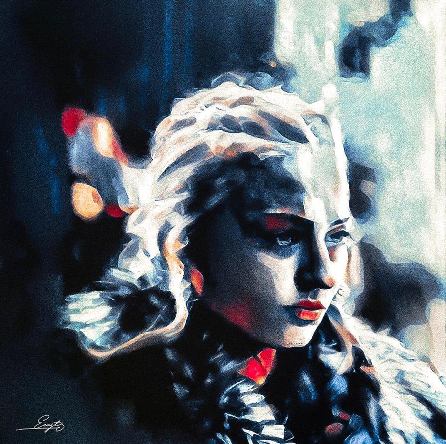 WInter is here | Sansa Stark by EcaJT