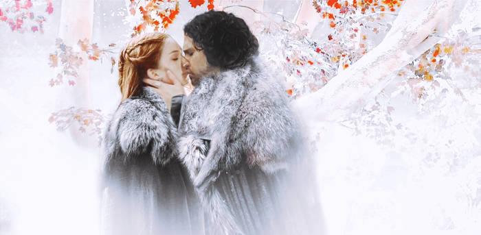 Sansa and Snow - Jonsa Foreshadowing by EcaJT