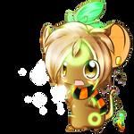 -Commission- Chibi ninetail-fox