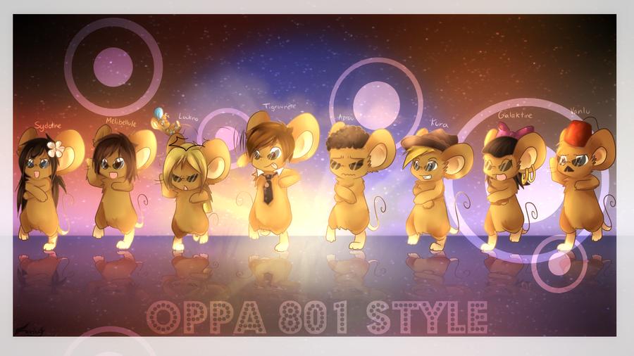 :OPPA 801 STYLE: by Fierying