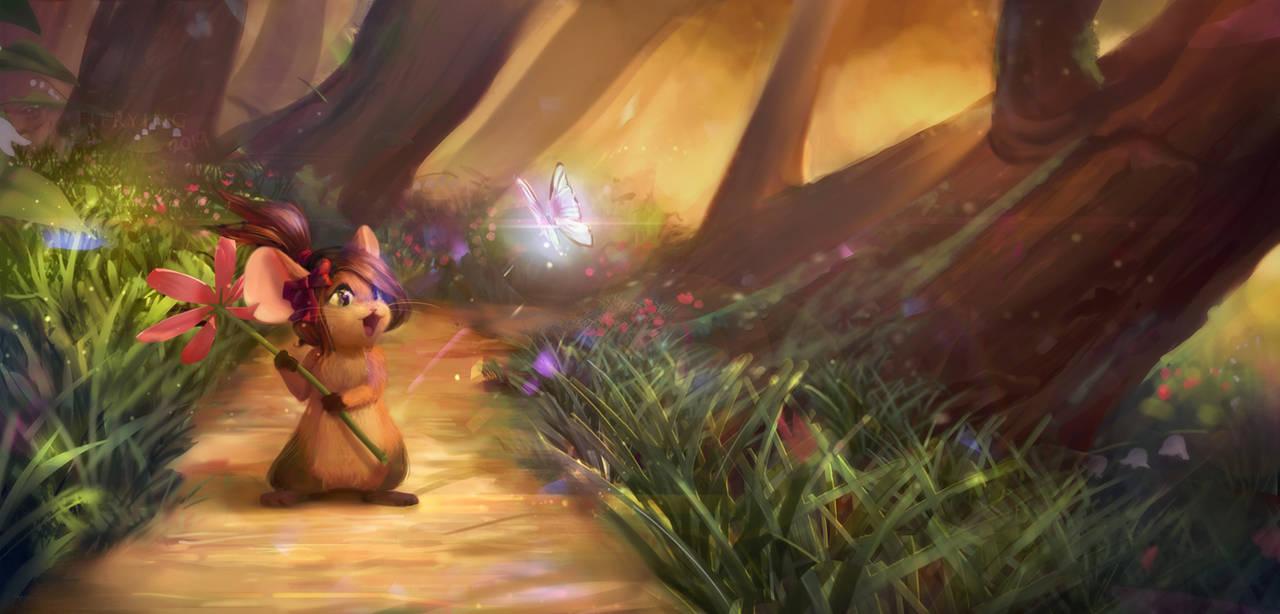 -Commission- Minkee by Fierying