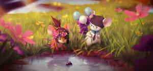 -Commission- Minkee_2 by Fierying