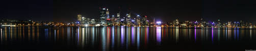 Perth Panorama by BradleyPitt