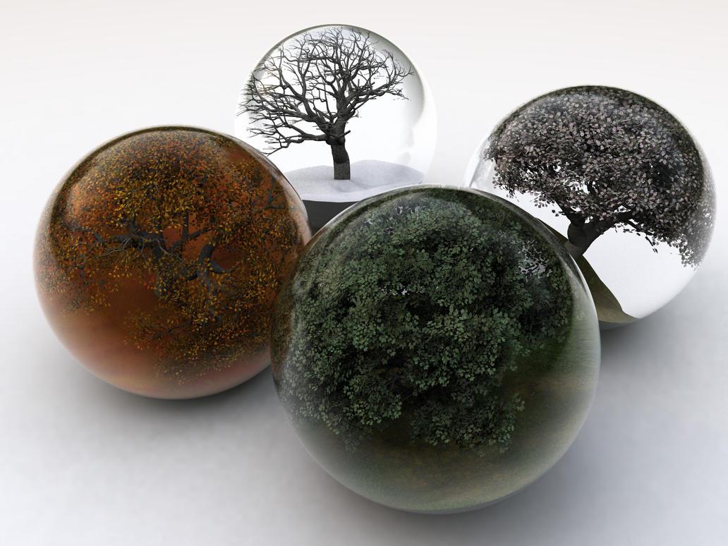 Four-Seasons by mariusp