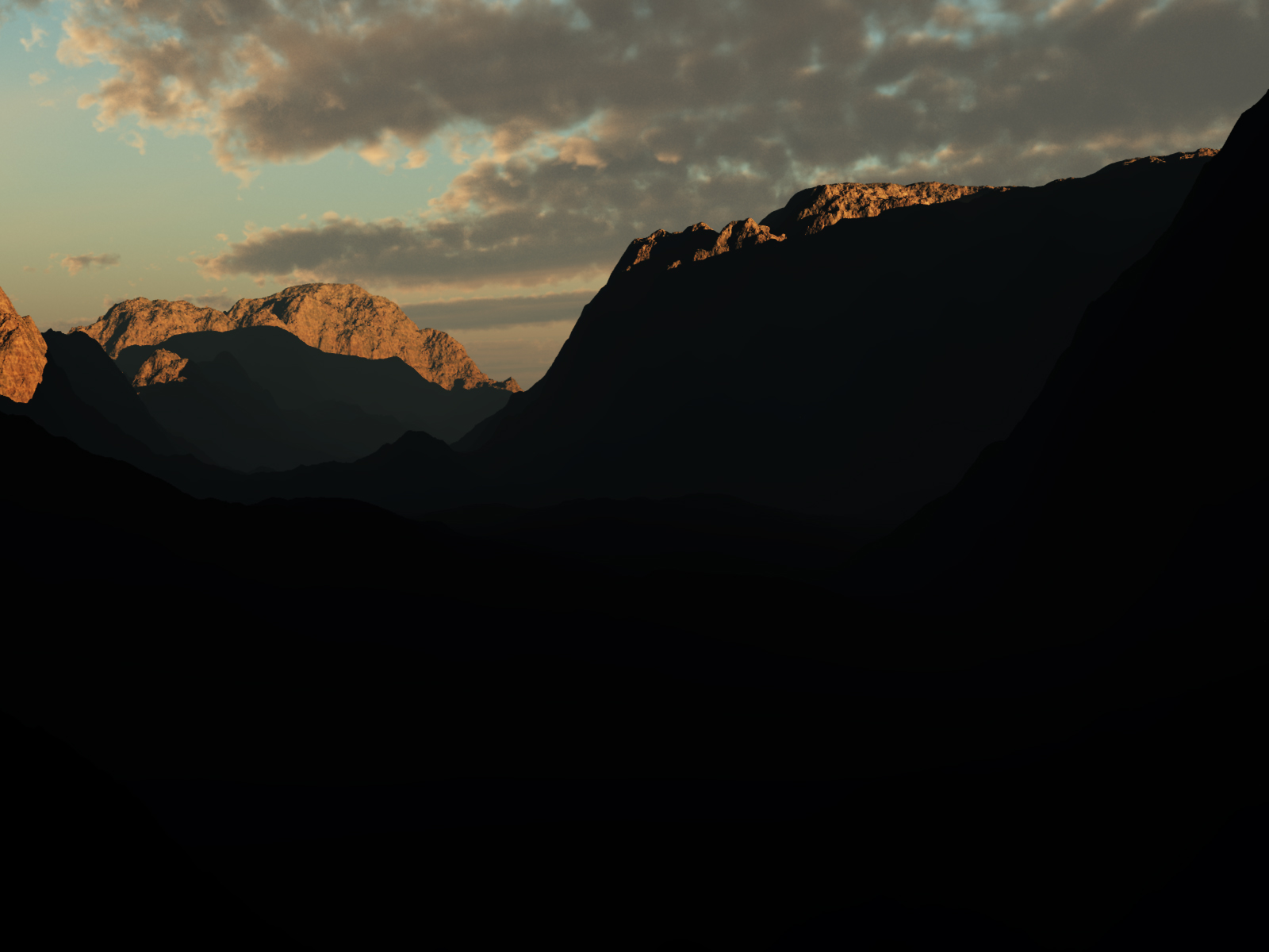 Sunset Basin by mariusp