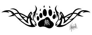Tattoo Tribal Bear Paw