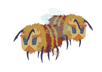 Minecraft Bumble Butts Design