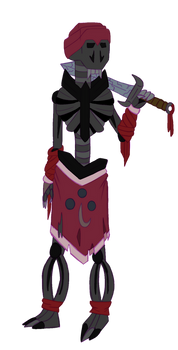 DnD Minecraft Wither Skeleton Redesign