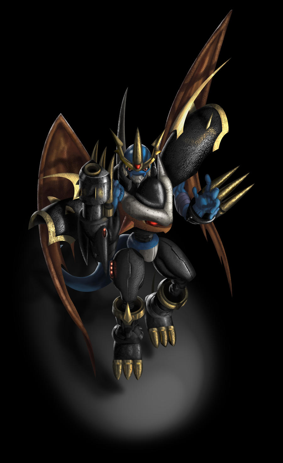 Imperialdramon: Fighter Mode by Mearns on DeviantArt