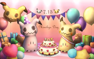 Mimikyu Day by ktksgr4201