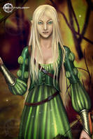 Elven Couple Detail1 by Taurina