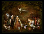 Oberon and Titania by Taurina