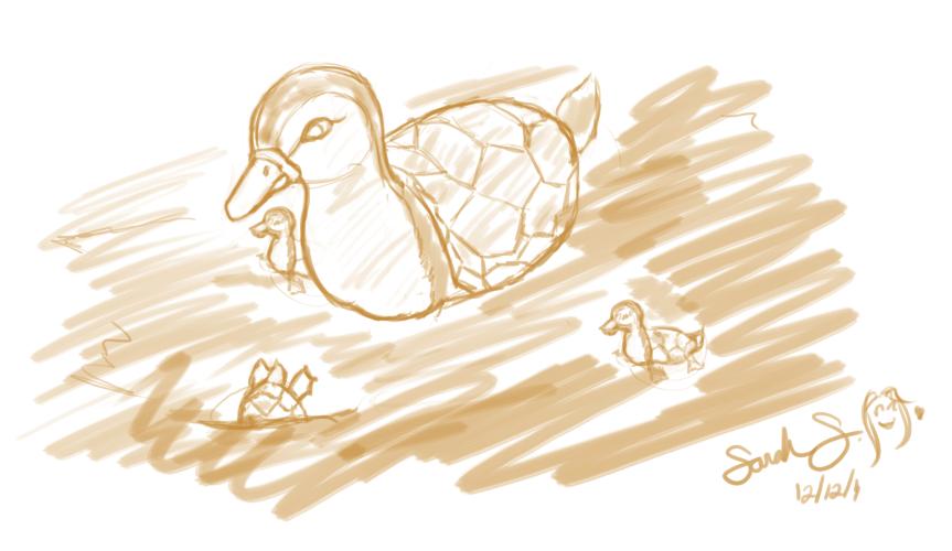 Turtleduck by doodleplex