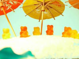 jellybears on the beach2 by itto