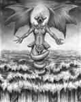 Tiamat, sea goddess