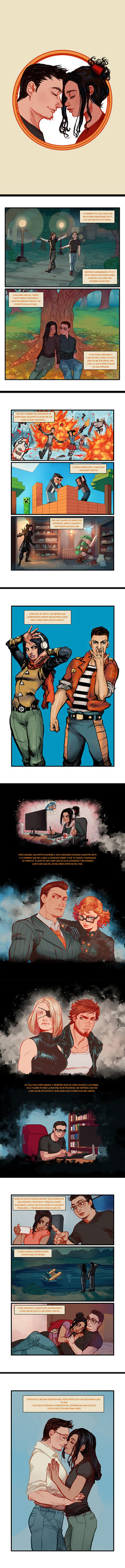 Comic de Matricidio! by Mephmmb