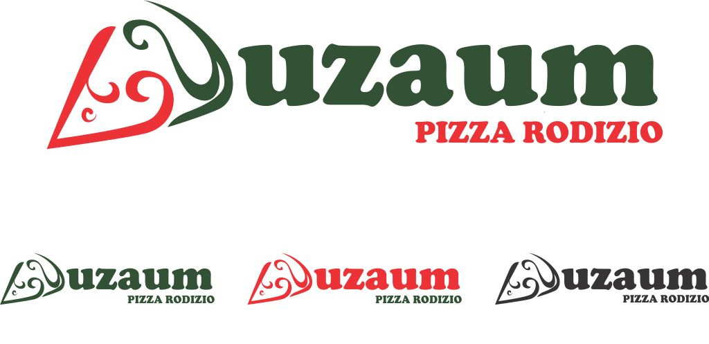 Duzaum Pizza Rodizio - Logo by eclipsekiller