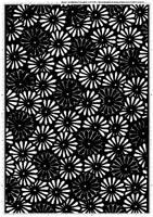 Screentone kimono flower 1 by bakenekogirl
